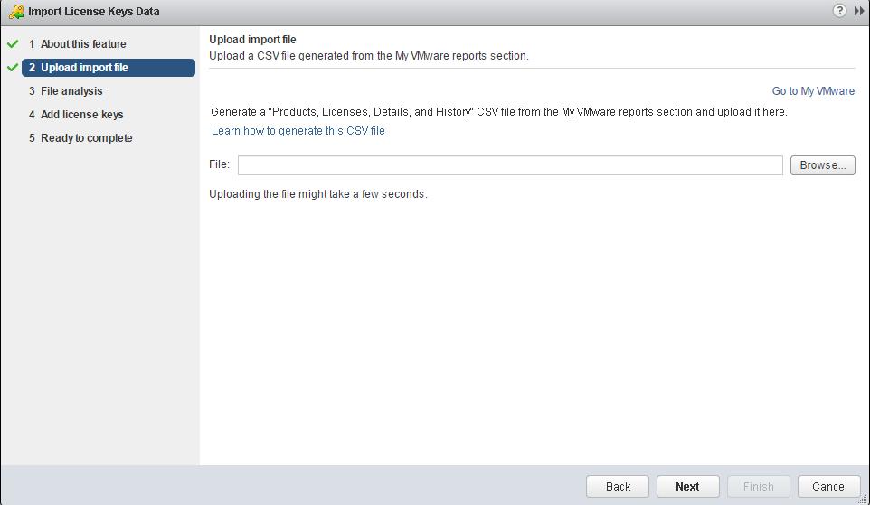vsphere 6.5 add license key