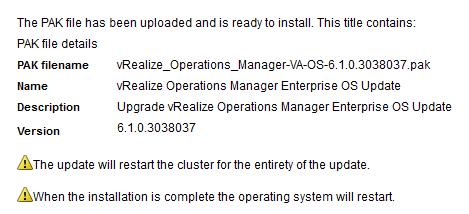 Upgrading vRealize Operations to 6 1 · davidstamen com